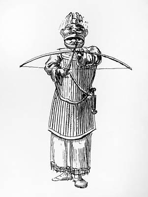 Tlingit Warrior, 1791 Print by Granger