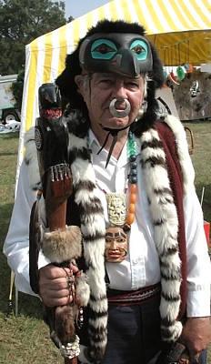 Tlinkit Northwest American Indians Art Print by Bill Marder