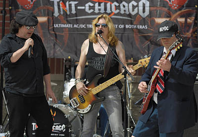 Conlon Photograph - Tnt Chicago Band by Vic Harris