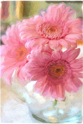 Painting - To Be Yourself - Flower Art by Jordan Blackstone