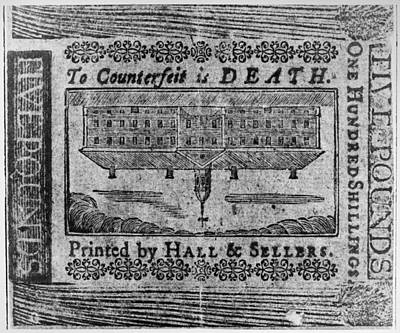 Jail Painting - 'to Counterfeit Is Death by Granger