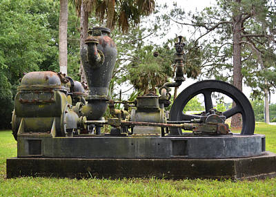 Photograph - To Draw Up Water For A City - The Pump by rd Erickson