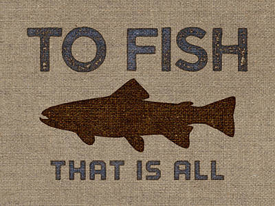 Potato Digital Art - To Fish Is All by Flo Karp