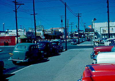 Photograph - To Fisherman's Wharf 1955 by Cumberland Warden