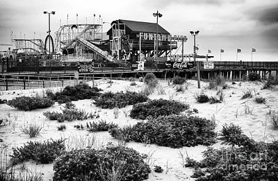 Photograph - To Funtown Pier by John Rizzuto