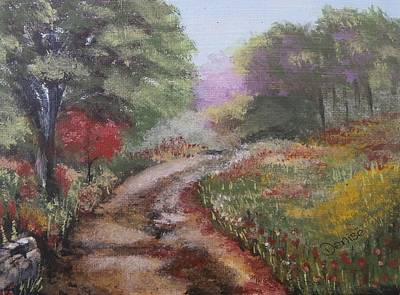 Painting - To Grandmothers House We Go by Denise Hills