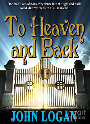 Paperback Cover Design Photograph - To Heaven And Back Book Cover by Mike Nellums