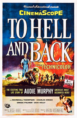 To Hell And Back, Us Poster Art, Audie Art Print by Everett