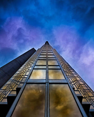 Photograph - To Infinity And Beyond 2 At No 200 Bay St Toronto Canada by Brian Carson