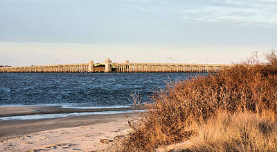 To Jones Beach Art Print by JC Findley