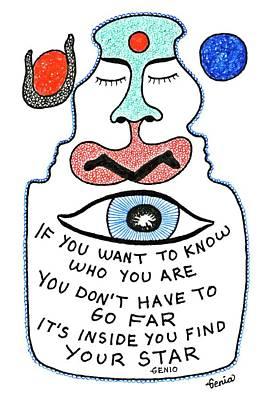 Joyful Drawing - To Know Yourself by Genia GgXpress