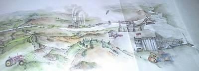 to Lewiston album  Art Print