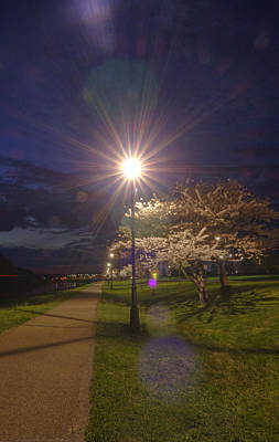 Ou. Ohio University Photograph - To Light The Way by Shirley Tinkham