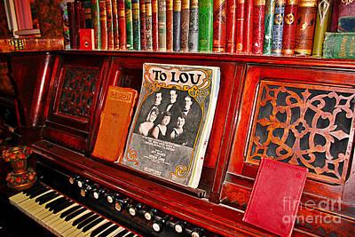 To Lou Art Print by Janice Rae Pariza