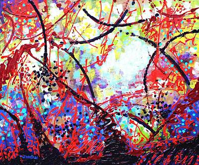 Abstract Expressionism Painting - To Make Visible The Invisible Iv  by John  Nolan