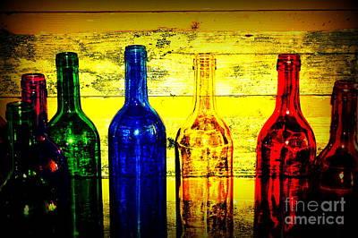 To Much Of Wine Art Print by Susanne Van Hulst