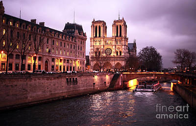 Photograph - To Notre Dame by John Rizzuto