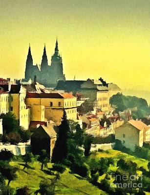 To Prague With Love... Art Print