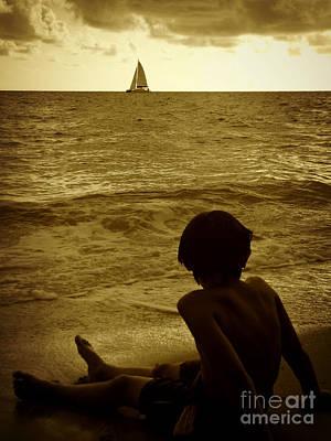 Digital Art - To Sail Away by Valerie Reeves