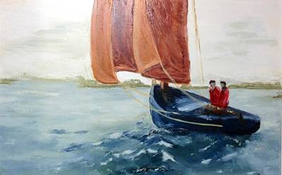Painting - To Sea by Brent Moody