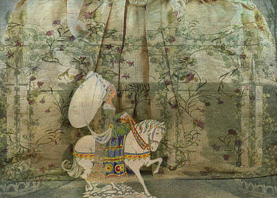 Nursery Rhyme Digital Art - To See A Fine Lady Upon A White Horse by Sarah Vernon