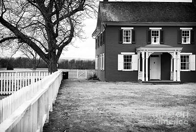 Red School House Photograph - To Sherfy's House by John Rizzuto
