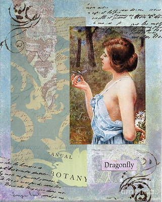 Painting - To Study The Dragonfly by Tamyra Crossley