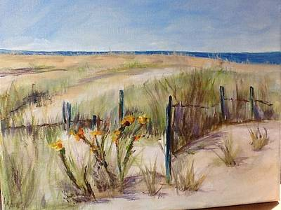 Painting - To The Beach by Maureen Pisano