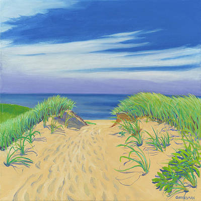 Painting - To The Beach by Rebecca Gottesman