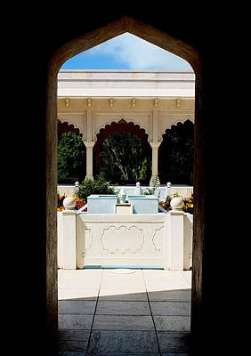 Photograph - To The Char Bagh Garden by Guy Pettingell