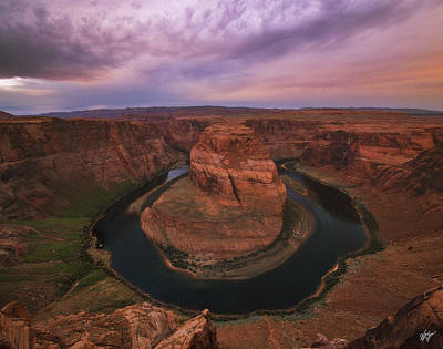 To The Edge And Back Art Print by Peter Coskun