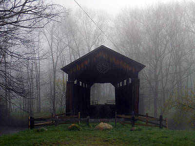 To The Fog Art Print