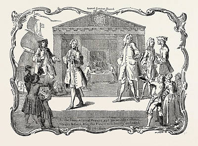 Vern Drawing - To The Independent Electors Of Westminster Vernon And Edwin by English School