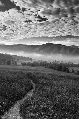 Fog Photograph - To The Mountains by Andrew Soundarajan
