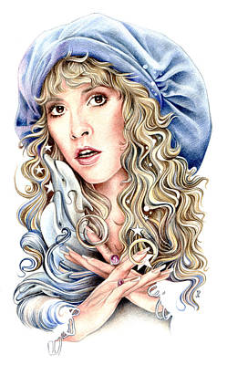 Stevie Nicks Drawing - To The Sea by Johanna Pieterman
