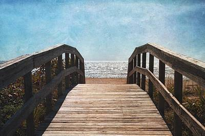 To The Sea Art Print by Kim Hojnacki