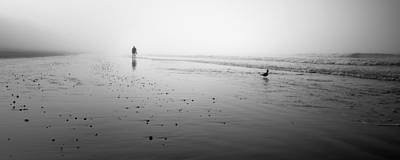 Photograph - To Walk Alone by Brad Grove