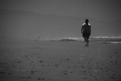 Photograph - To Walk Alone by Luis Esteves