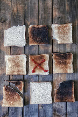 Biting Photograph - Toast by Joana Kruse