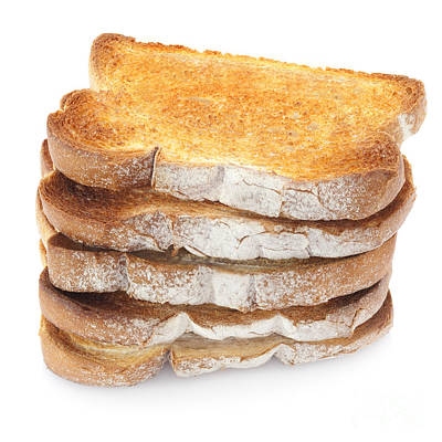 Toast Stack Art Print by Colin and Linda McKie