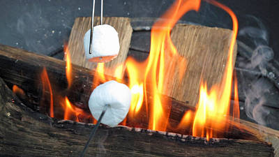 Smores Photograph - Toasted by Krista Norris