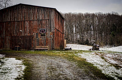 Rustic Photograph - Tobacco Barn by Heather Applegate