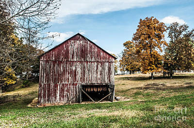 Art Print featuring the photograph Tobacco Barn Ready For Smoking by Debbie Green