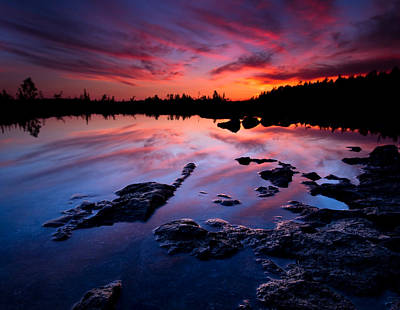 Lake Huron Photograph - Tobermory Sunset by Cale Best