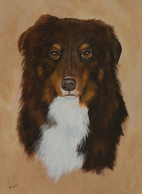Painting - Tobey by Nancy Lauby