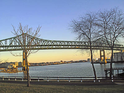 Tobin Bridge Art Print