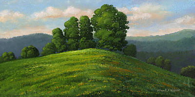 Painting - Toboggan Hill by Frank Wilson