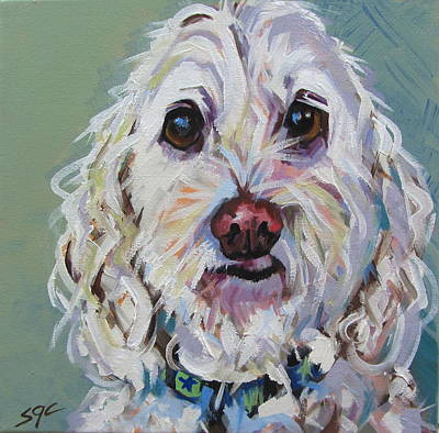 Painting - Toby by Sarah Gayle Carter