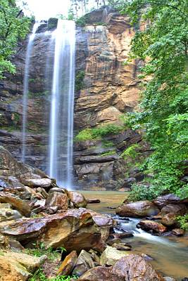 Photograph - Toccoa Falls by Gordon Elwell