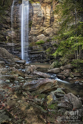 Photograph - Toccoa Falls by Linda Blair
